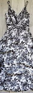 WHBM floral maxi dress